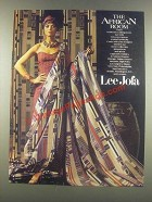 1985 Lee Jofa Kente Collection Fabric Ad - African Room
