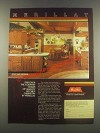 1985 Merillat Kitchen Cabinetry Ad - Country Charm