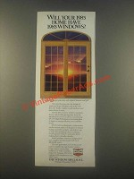 1985 Crestline Wood Windows and Patio Doors Ad