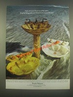 1985 Sherle Wagner Sink and Faucets Ad - Nature