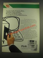 1985 Fuji Film Floppy Disk Ad - A Year's Worth