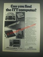 1985 ITT Xtra Personal Computer Ad - Can You Find
