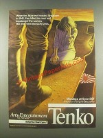 1985 Arts & Entertainment Network Tenko Ad