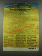 1985 Nynex Corporation Ad - Get the Bugs Out