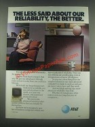 1985 AT&T Telephone Ad - Our Reliability