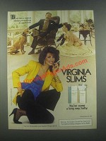 1985 Virginia Slims Cigarettes Ad - Equal Pay