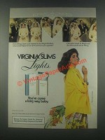 1985 Virginia Slims Cigarettes Ad - The Wrong Sisters