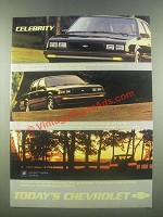 1985 Chevrolet Celebrity Car Ad