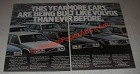 1985 Volvo Cars Ad - This year more cars are being built like Volvos than ever