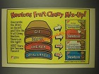1985 Nabisco Ad - Fig Newtons, Apple Newtons, Cherry Newtons, Blueberry Newtons