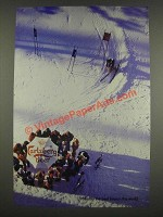 1985 Carlsberg Beer Ad - Probably the best beer in the world - Skiing