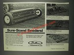 1985 Brillion Ad - Sure-Stand Seeders, Pulvi-Mulchers, Pulverizers
