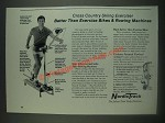 1985 NordicTrack Cross Country Skiing Exerciser Ad