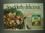1985 Hidden Valley Ranch Dressing Ad - Nouvelle Potato Salad Recipe