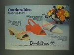 1985 Daniel Green Shoes Ad - Copa, Breezy, Cape Cod