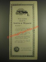 1925 Smith & Wesson Revolver Ad - Philadelphia Police Badge