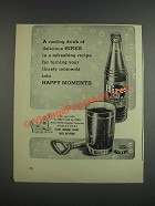 1943 Hires Root Beer Ad - A refreshing recipe your thirsty moments
