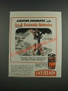 1943 Eveready Batteries Ad - Cartoon by Frank Beaven - Loads More Fun