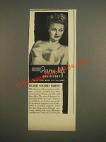 1944 Hickory Perma-Lift Brassieres Ad - Exclusive Exciting Exquisite