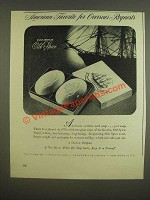 1945 Old Spice Soap Ad - American favorite for overseas requests