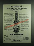 1993 Hornady APEX Loader Ad - No Reason to Buy Single-Stage