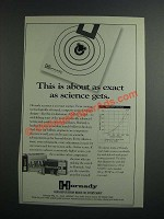 1997 Hornady A-MAX Bullet Ad - About As Exact as Science Gets