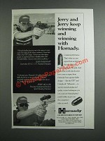 1997 Hornady XTP and CrimpLock Silhouette Bullets Ad - Jerry Barnhart, Miculek