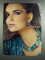 1986 Monet Jewelry Ad