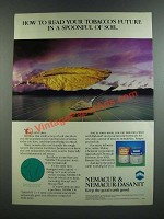 1986 Mobay Nemacur & Nemacur-Dasanit Ad - Read Tobacco's Future