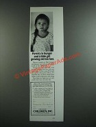 1986 Children, Inc. Ad - Poverty is Hunger