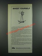 1986 VITA Volunteers in Technical Assistance Ad - Invest