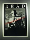 1986 American Library Association Ad - Lee Iacocca - Read
