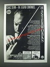 1986 CBS Masterworks Isaac Stern Albums Ad - The Legend Continues