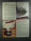 1986 Raid Fumigator Ad - Fumigation Kills More Bugs