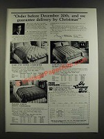 1986 The Company Store Down Comforters Ad - Karo Step, Square Stitch