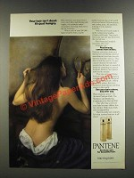 1986 Pantene Shampoo and Conditioner Ad - Your Hair Isn't Dead Just Hungry