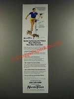 1986 NordicTrack Exercise Machine Ad - Bill Koch
