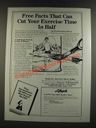 1986 Lifecycle Exercise Bike Ad - Can Cut Your Exercise Time in Half