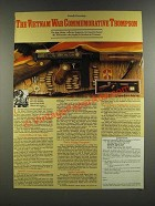 1986 American Historical Ad - The Vietnam War Commemorative Thompson