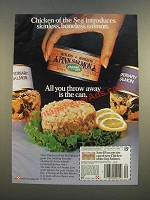 1986 Chicken of the Sea Pink Salmon Ad