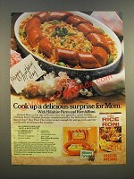 1986 Rice-a-Roni Rice Pilaf and Hillshire Farm Smoked Sausage Ad