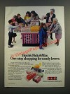 1986 Brach's Pick-A-Mix Candy Ad - One-Stop Shopping