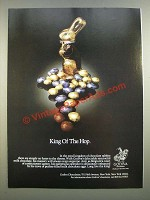 1986 Godiva Chocolate Ad - King of The Hop