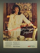 1986 Kmart Fashion Ad - Jaclyn Smith - Some Entertaining Ideas