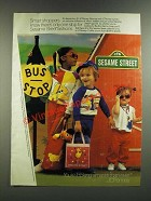 1986 JCPenney Sesame Street Fashion Ad - Smart Shoppers Know