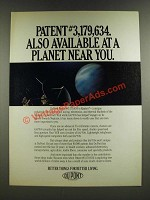 1986 Du Pont Kapton Ad - Available at a Planet Near You