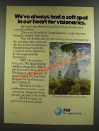 1986 AT&T Telephone Ad - Had A Soft Spot in Our Heart for Visionaries