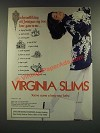 1986 Virginia Slims Cigarettes Ad - On The Twelfth Day of Christmas