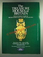 1986 Ford Motor Company Ad - The Treasure Houses of Britain