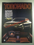1986 Oldsmobile Toronado Ad - Doesn't Merely Break Tradition